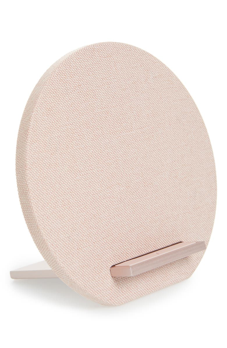 NATIVE UNION Dock Wireless Charger, Main, color, ROSE