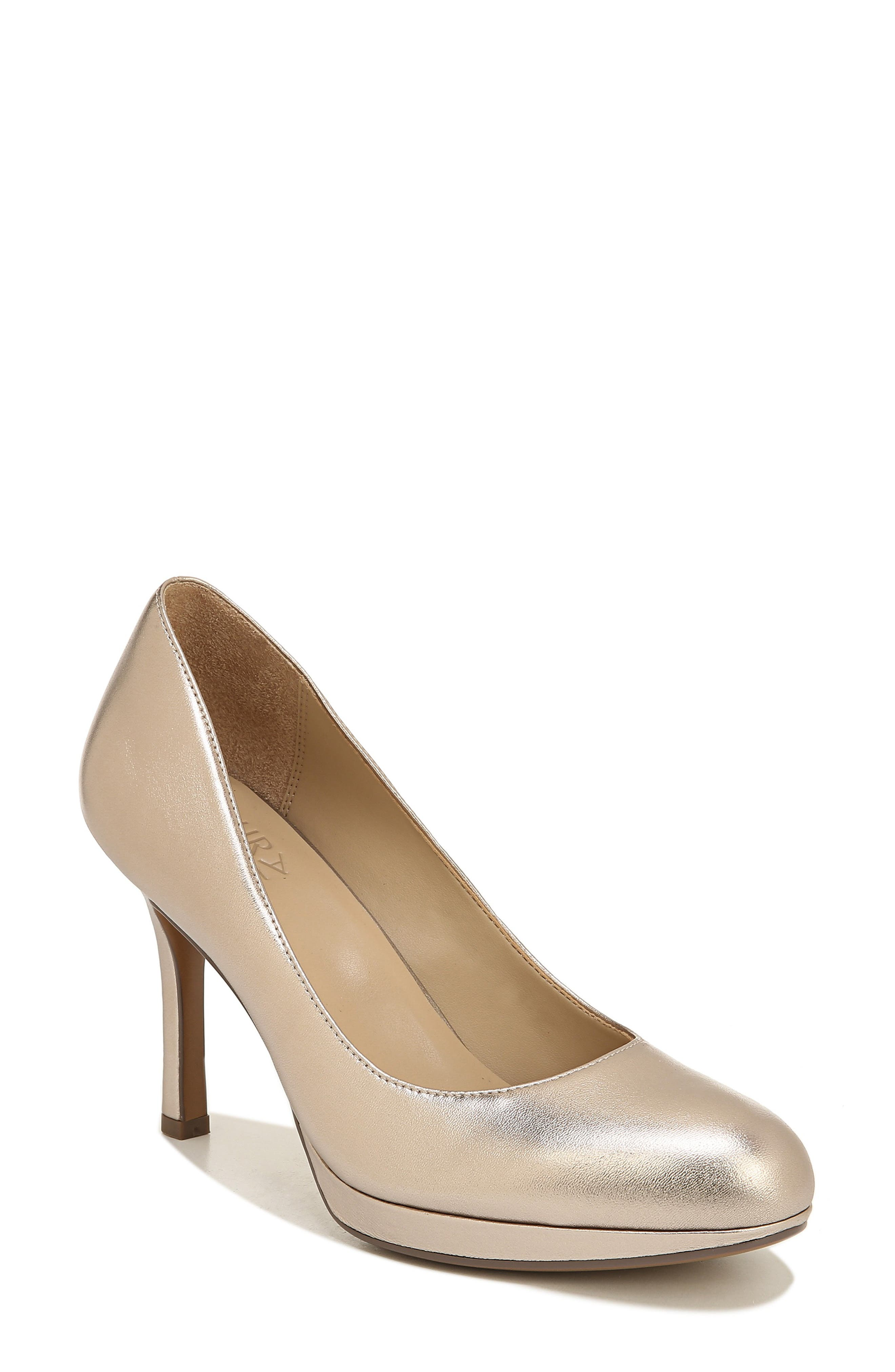 Naturalizer Celina Almond Toe Pump, Metallic