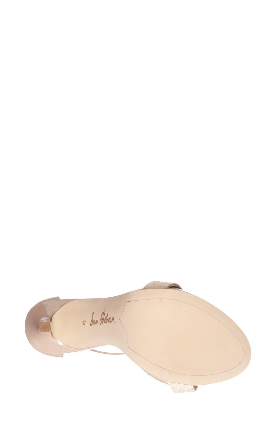 ,                             'Eleanor' Ankle Strap Sandal,                             Alternate thumbnail 112, color,                             255