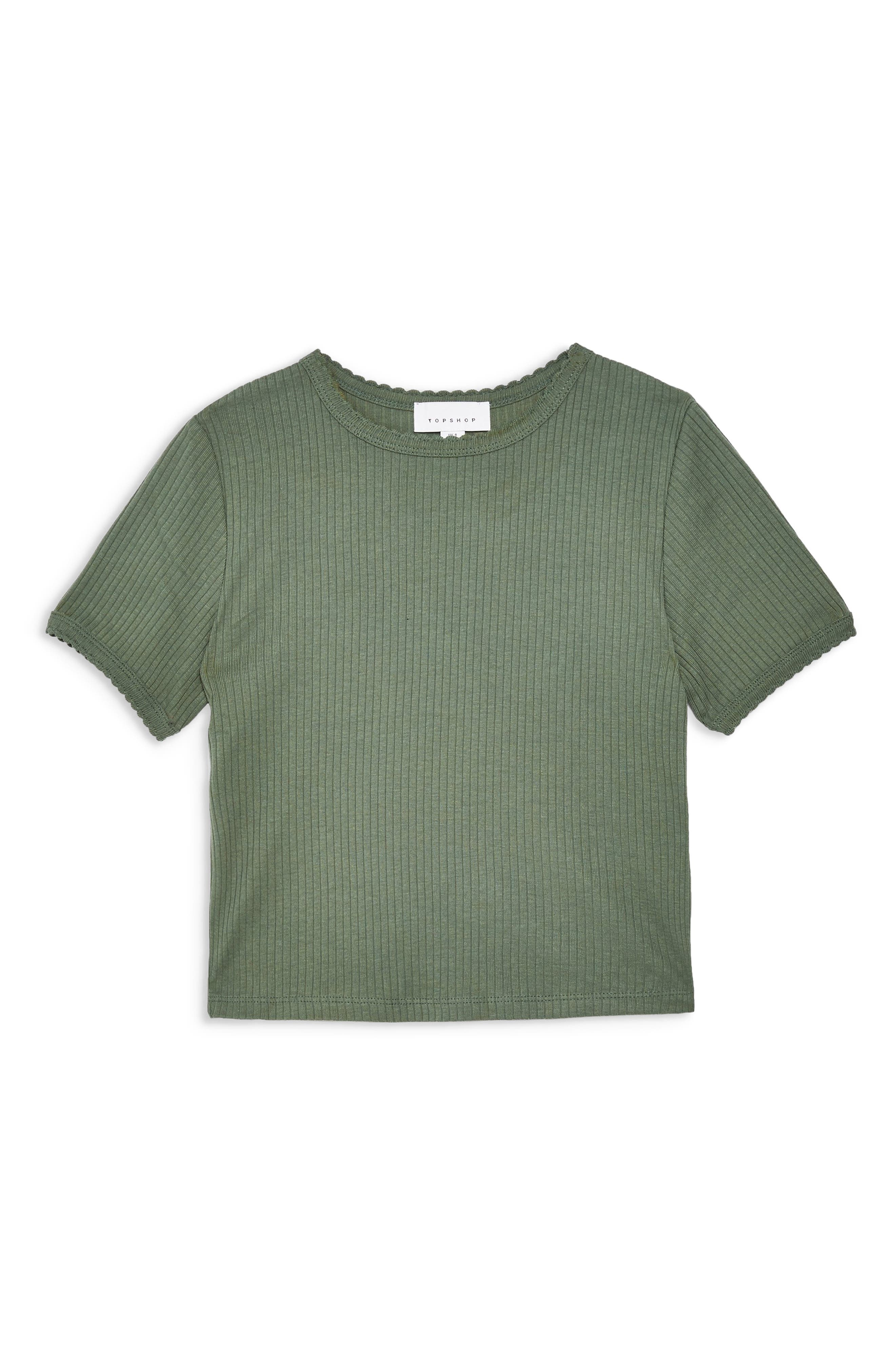 ,                             Scallop Edge Tee,                             Alternate thumbnail 6, color,                             300