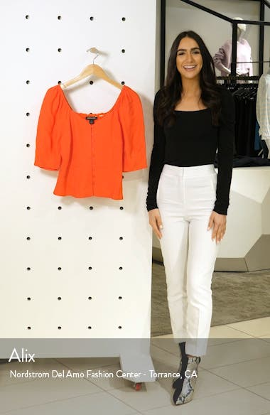 Front Button Fitted Top, sales video thumbnail