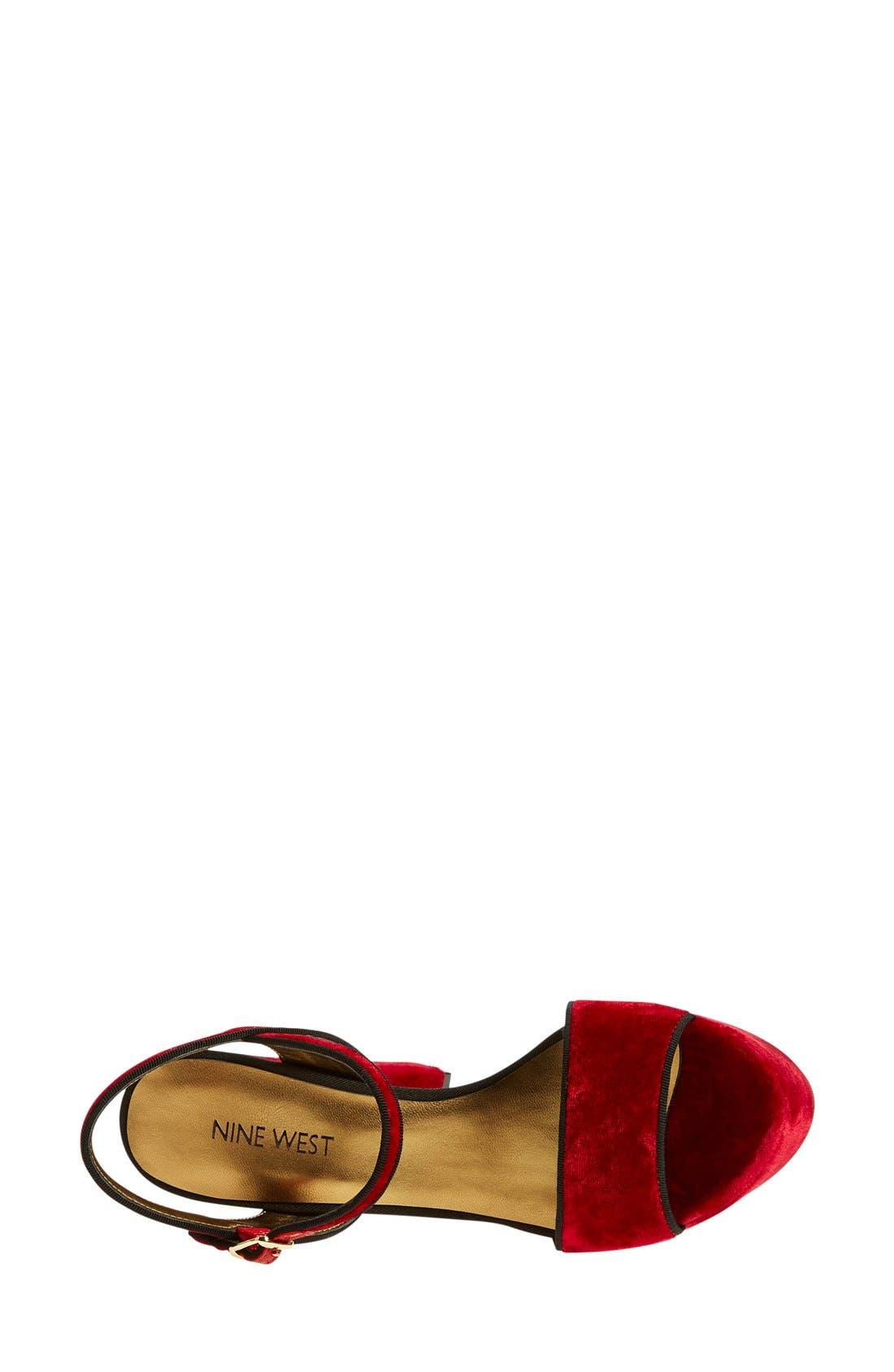 ,                             'Carnation' Platform Sandal,                             Alternate thumbnail 23, color,                             600