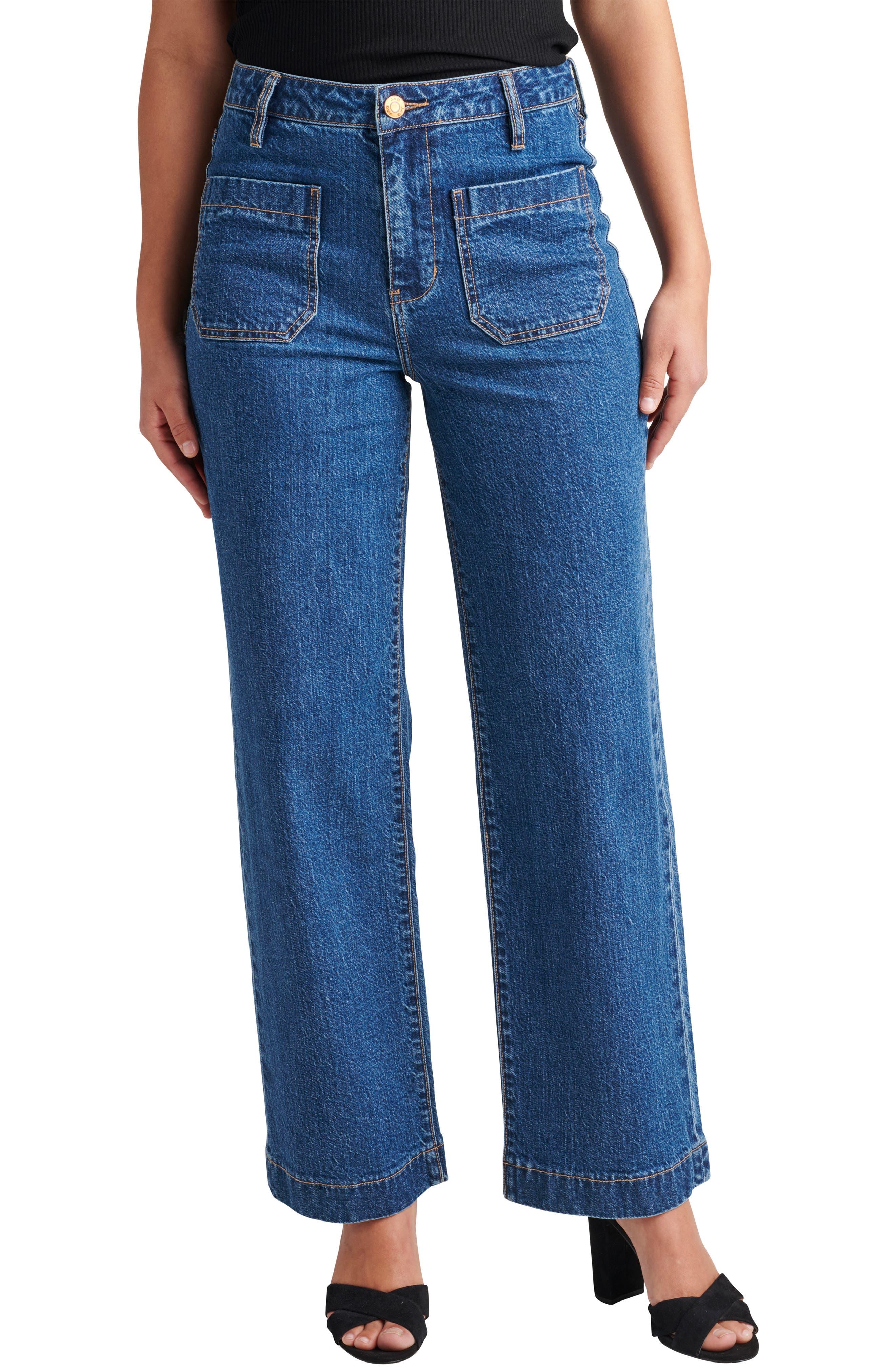 Sophia High Waist Wide Leg Jeans