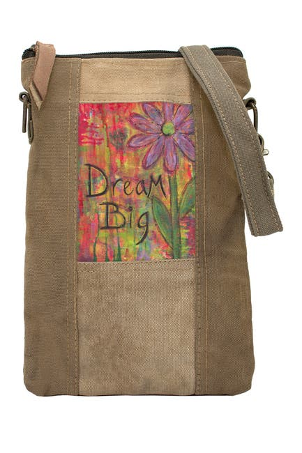 Image of Vintage Addiction Dream Big Tent Crossbody Bag
