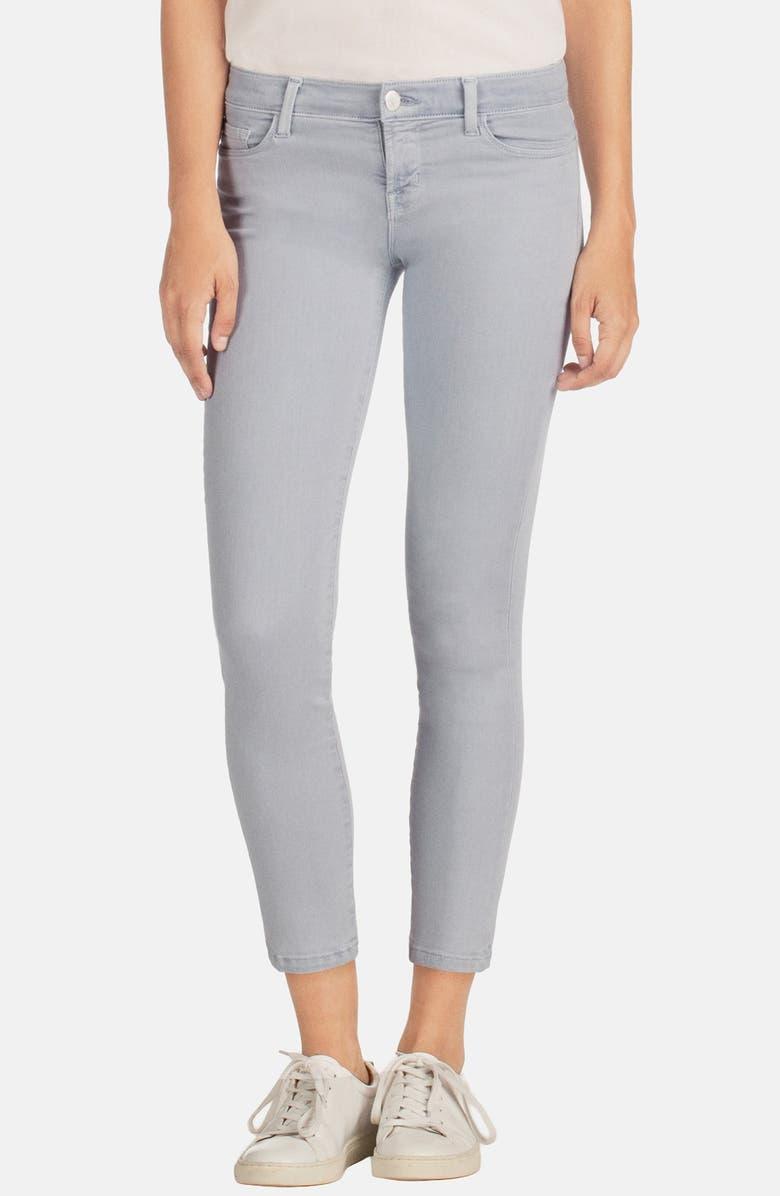 J BRAND 'Rail' Mid Rise Super Skinny Jeans, Main, color, 020