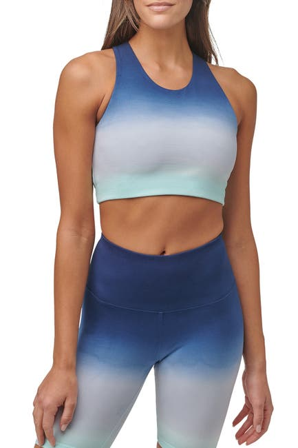 Image of MARC NEW YORK PERFORMANCE Ombre Cropped Yoga Tank