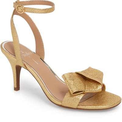Linea Paolo Haven Ankle Strap Sandal, Metallic