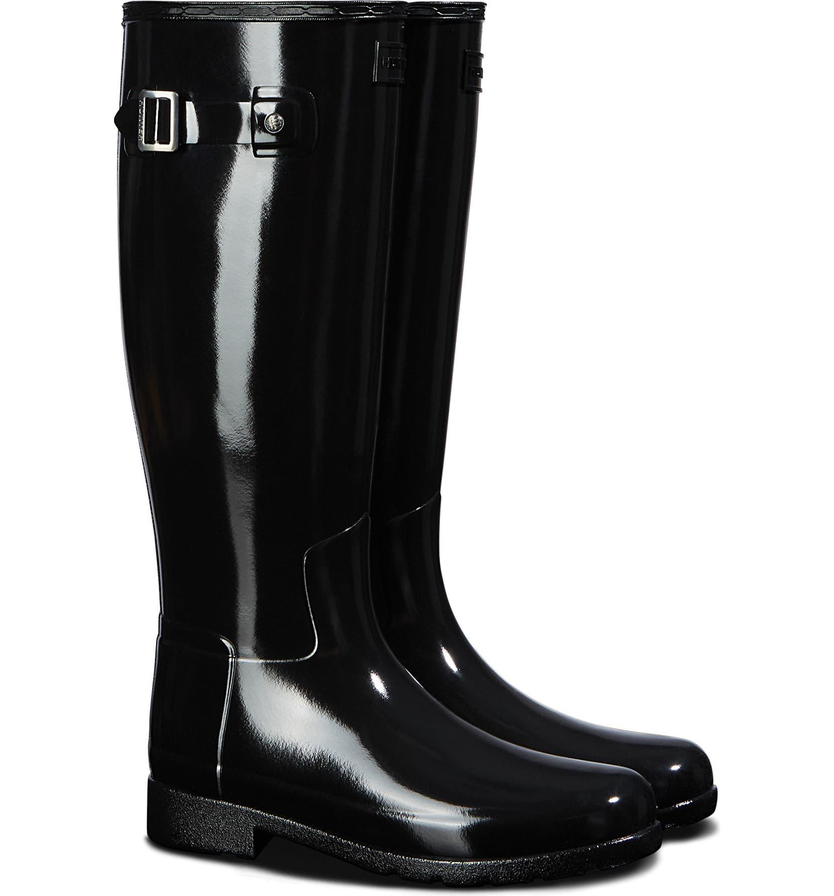 cf7abd614d4 Original Refined Gloss Tall Waterproof Rain Boot