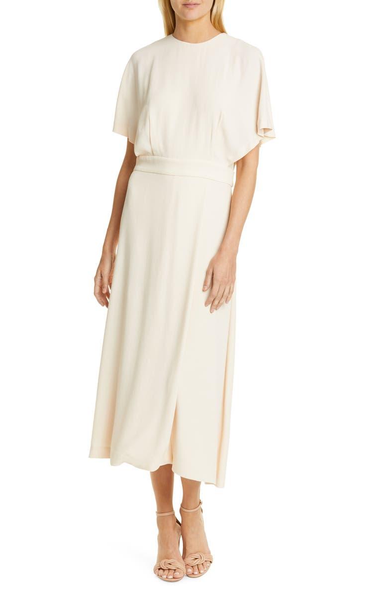EQUIPMENT Chemelle Midi Dress, Main, color, BRAZIL SAND