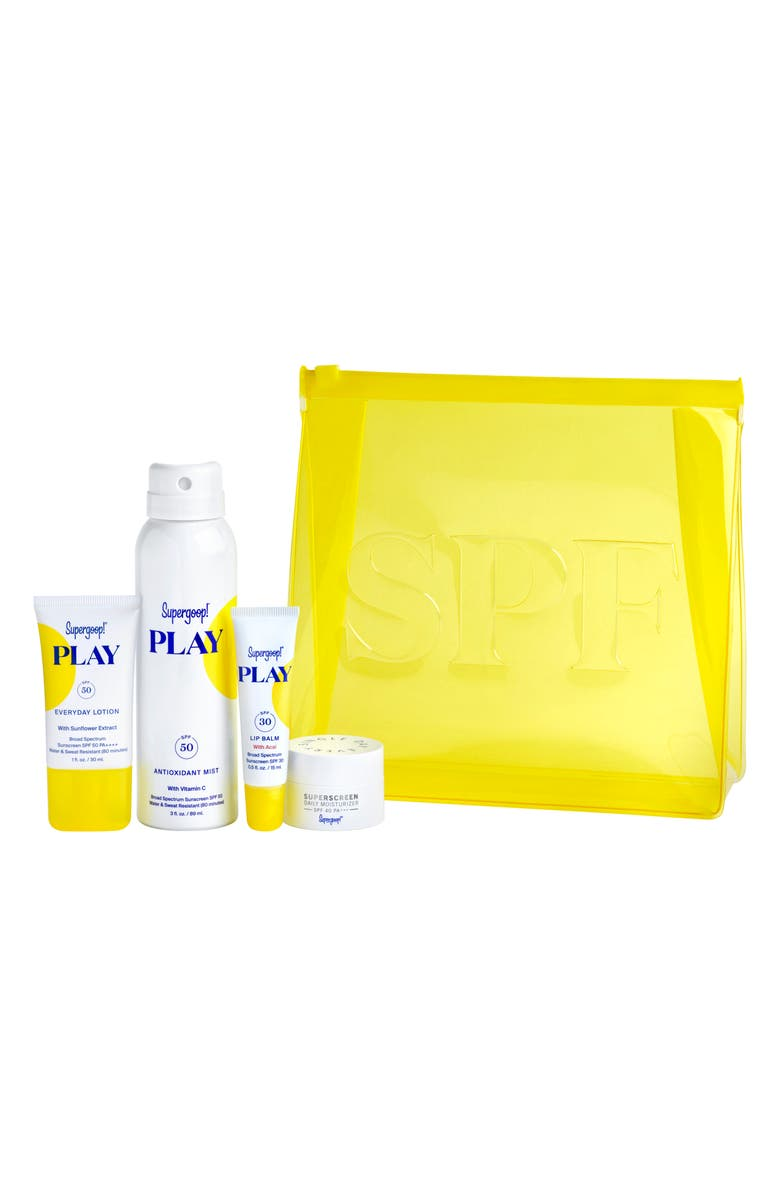 SUPERGOOP!<SUP>®</SUP> Supergoop! Ready.Set.Play! Sunscreen Set, Main, color, NO COLOR