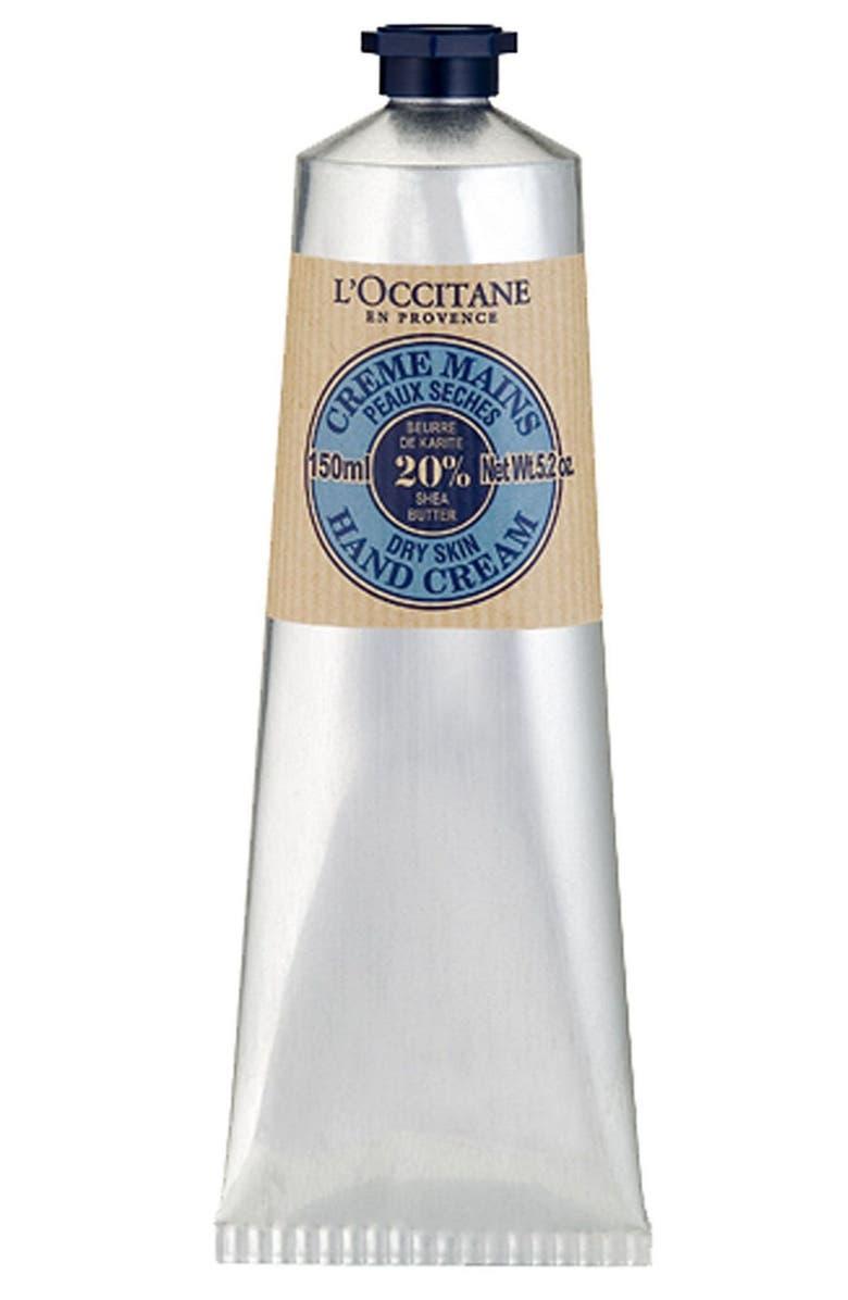 L'OCCITANE Shea Butter Hand Cream, Main, color, NO COLOR