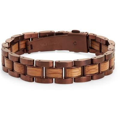 Original Grain Moto Whiskey Barrel Link Bracelet