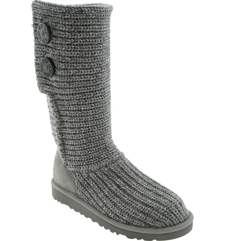 UGG<SUP>®</SUP> 'Cardy' Crochet Boot, Main, color, 020