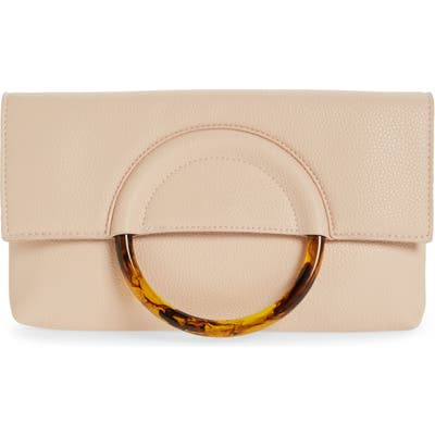 Bp. Ring Handle Classic Clutch - Pink