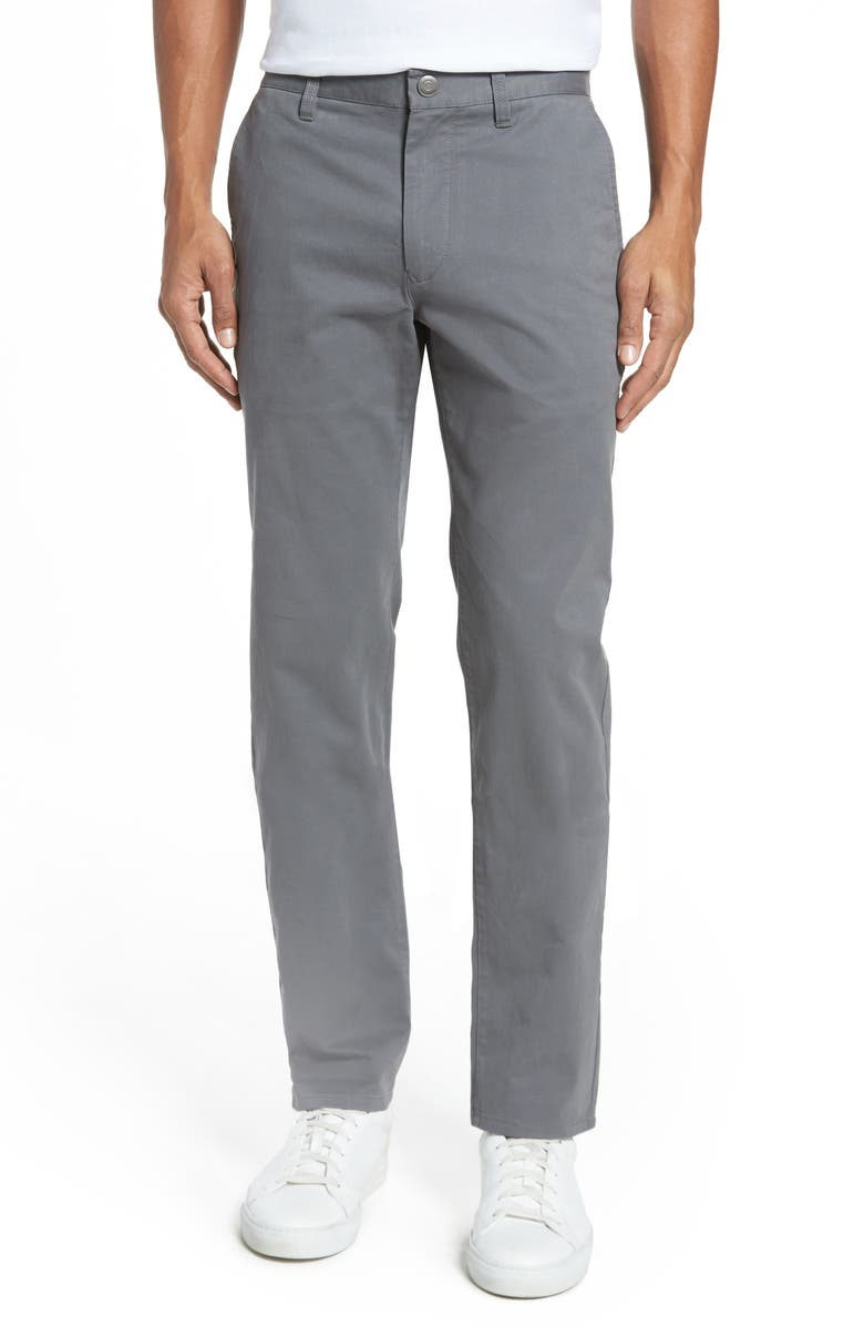 BONOBOS Slim Fit Stretch Washed Chinos, Main, color, CASTLEROCK