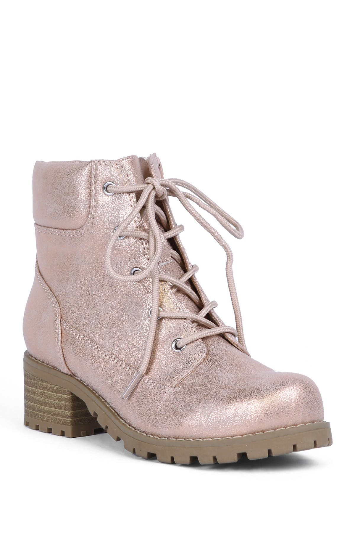 Image of DV DOLCE VITA Lace-Up Combat Boot