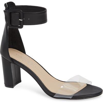 Chinese Laundry Reggie Ankle Strap Sandal- Black