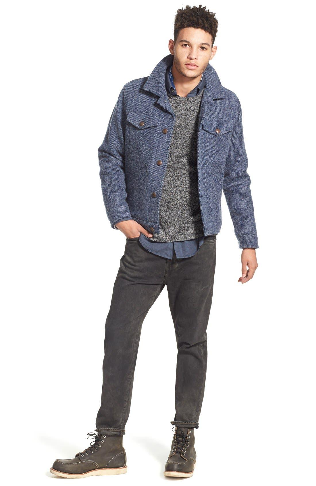 ,                             Wool Twill Jacket,                             Alternate thumbnail 2, color,                             410