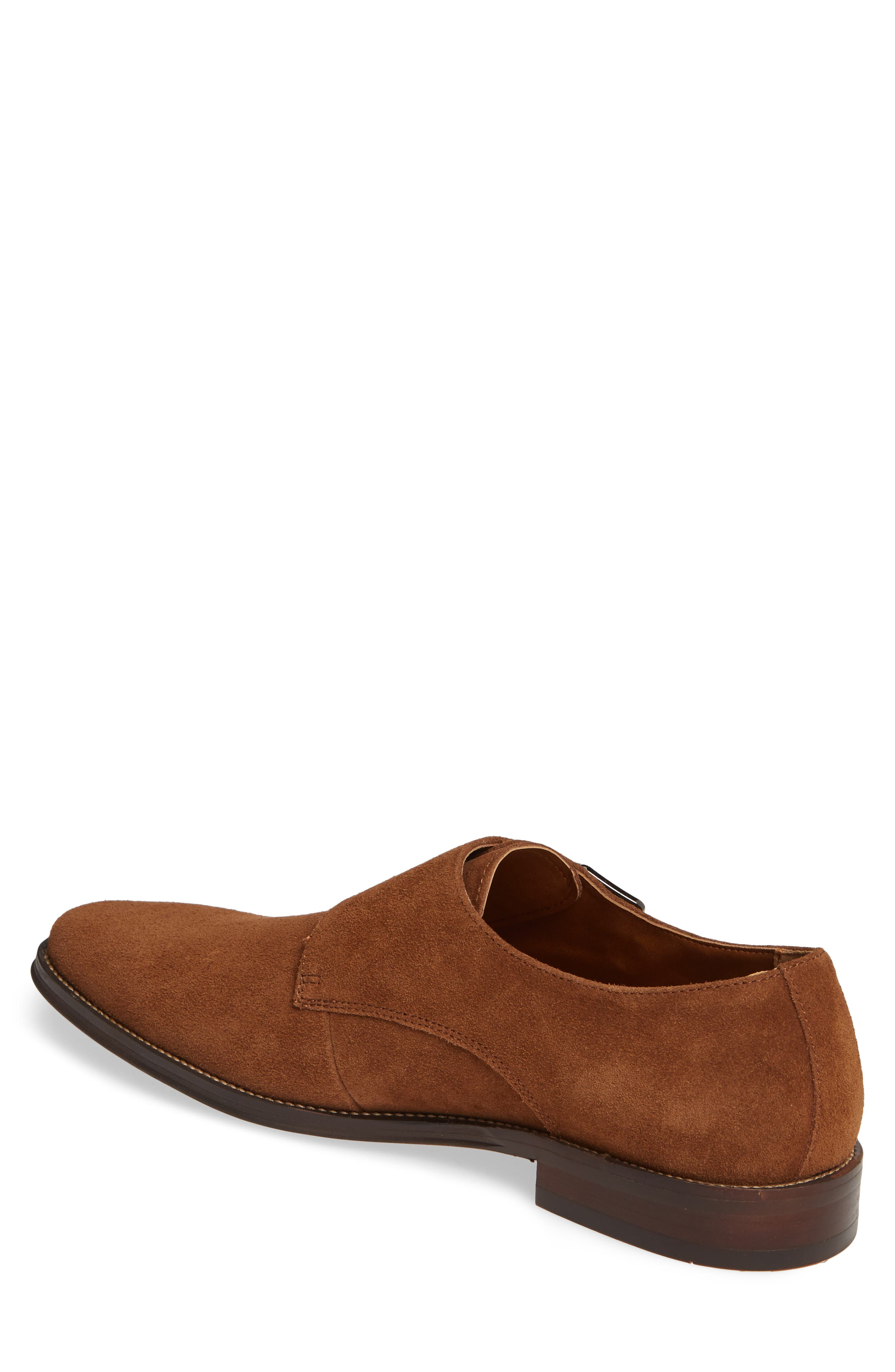 ,                             Roger Monk Strap Derby,                             Alternate thumbnail 2, color,                             TAN SUEDE
