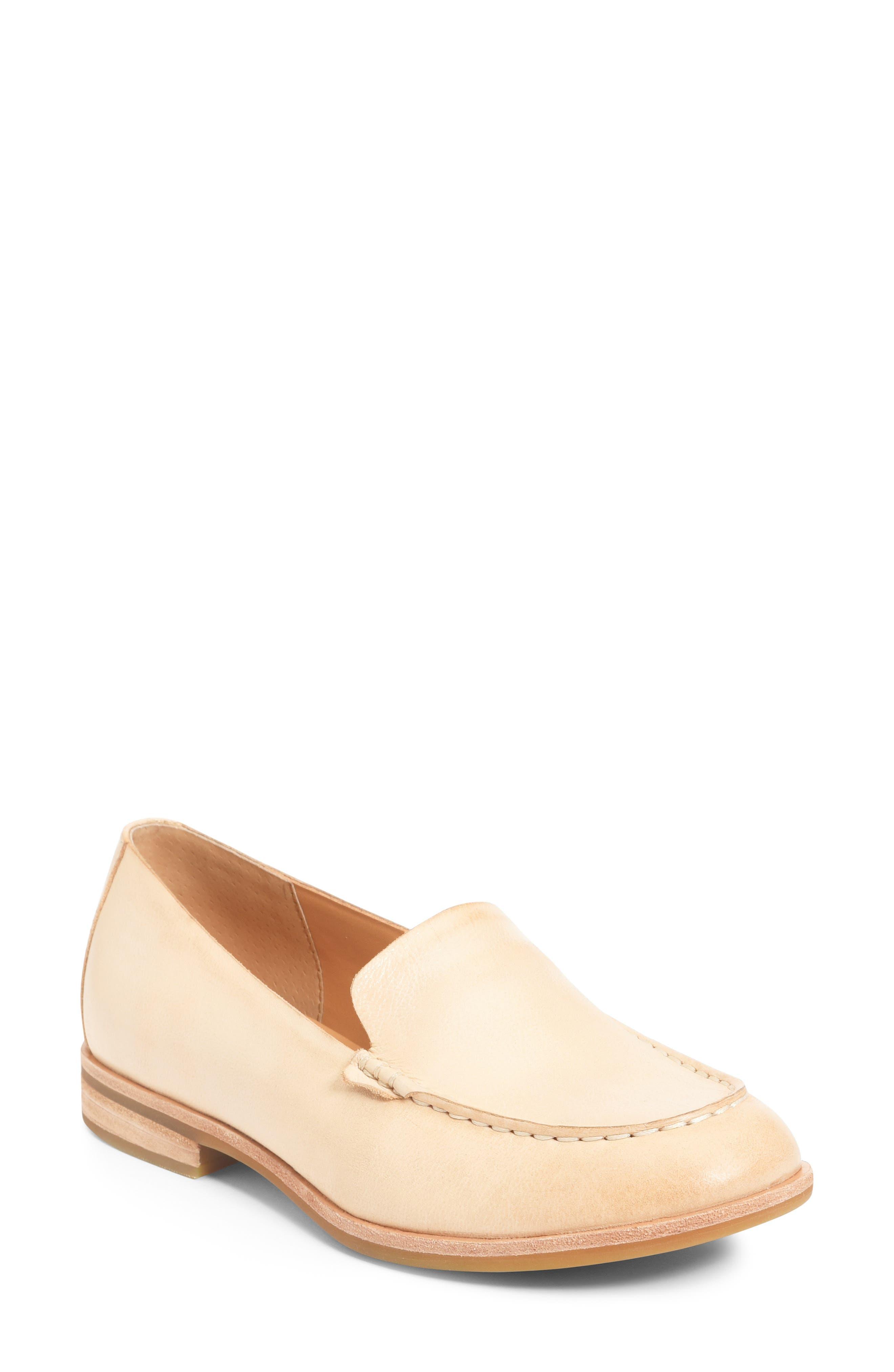 Women's Kork-Ease Moc Toe Flat