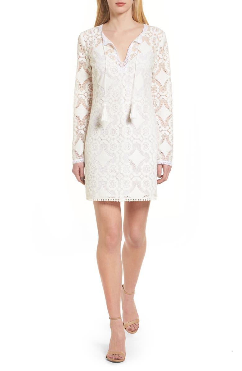 BAILEY 44 Spa Day Lace Sheath Dress, Main, color, 105