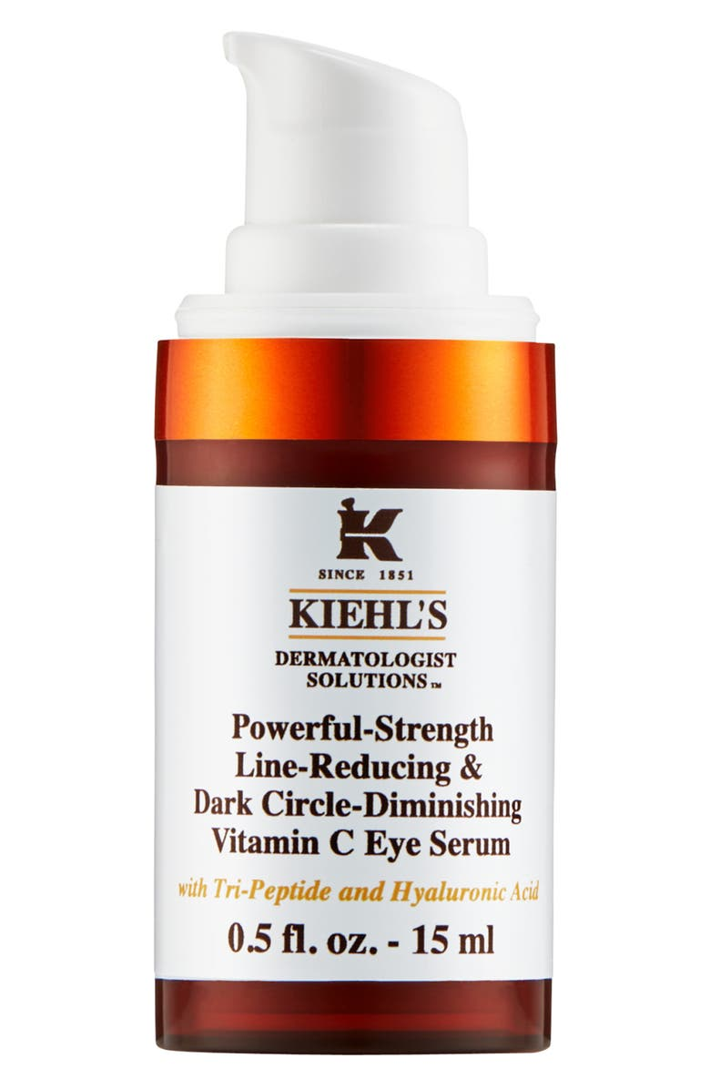KIEHL'S SINCE 1851 Powerful-Strength Dark Circle Reducing Vitamin C Eye Serum, Main, color, NO COLOR