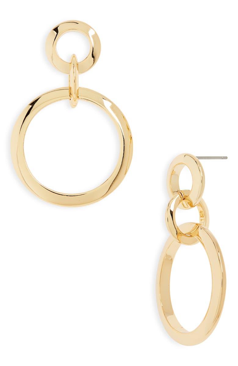 Jenny Bird Toni Triple Link Drop Earrings | Nordstrom