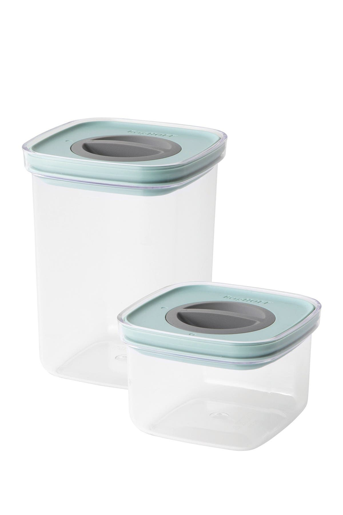 Image of BergHOFF Green Leo 2-Piece Smart Seal Food Container Set