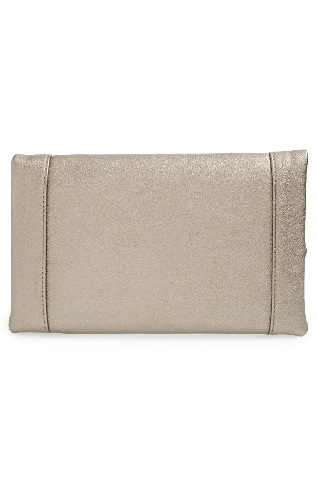 ,                             Marlena Faux Leather Foldover Clutch,                             Alternate thumbnail 41, color,                             228