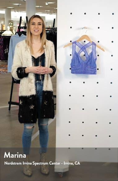 Intimately FP Sitting Pretty Brami Longline Lace Bralette, sales video thumbnail