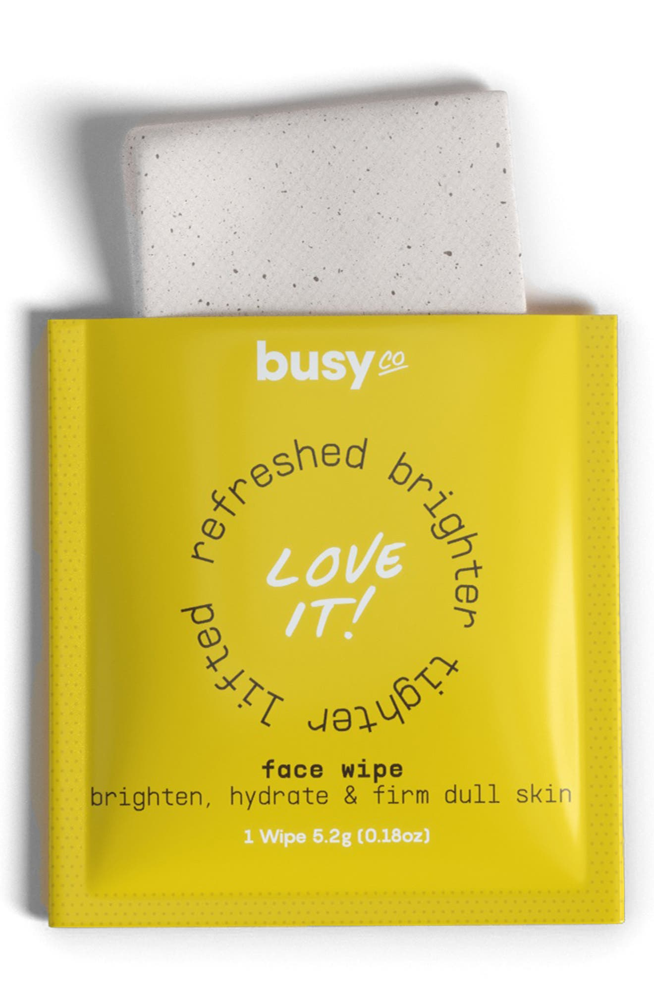 Busy Go Glow Face Wipes