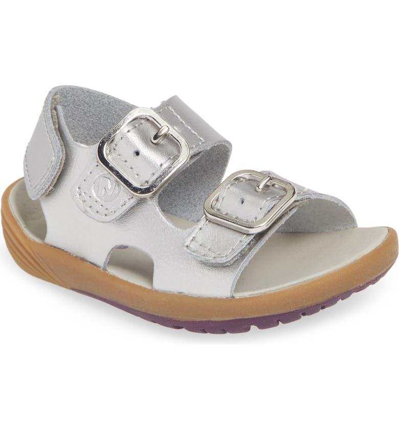 MERRELL Bare Steps Sandal, Main, color, SILVER