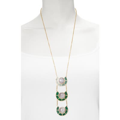 Sole Society Statement Y-Necklace
