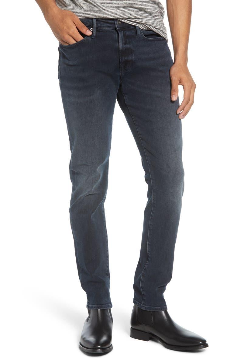 FRAME L'Homme Skinny Fit Jeans, Main, color, BINDER