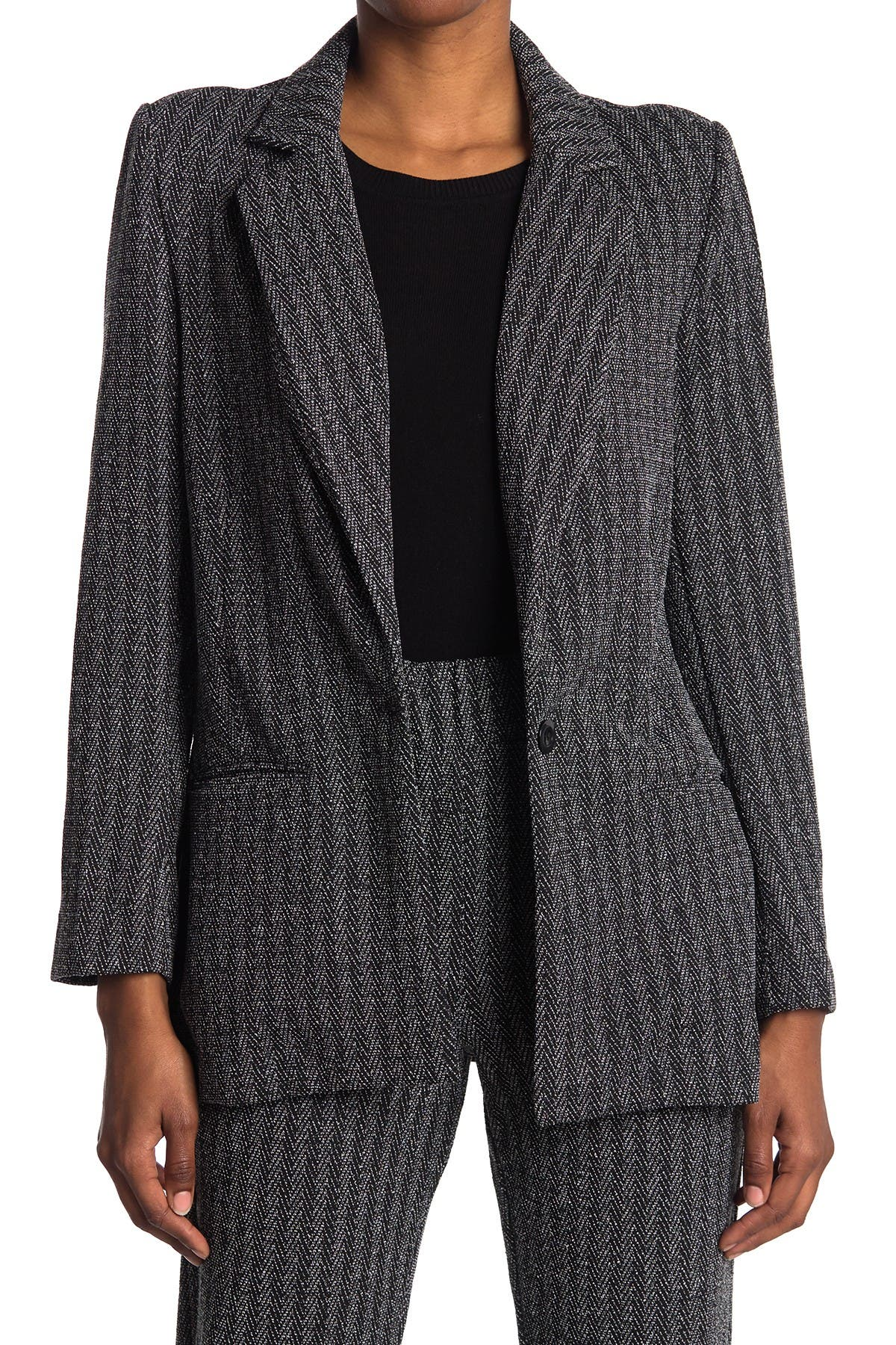 Image of Classe Couture Yarn Dye Blazer