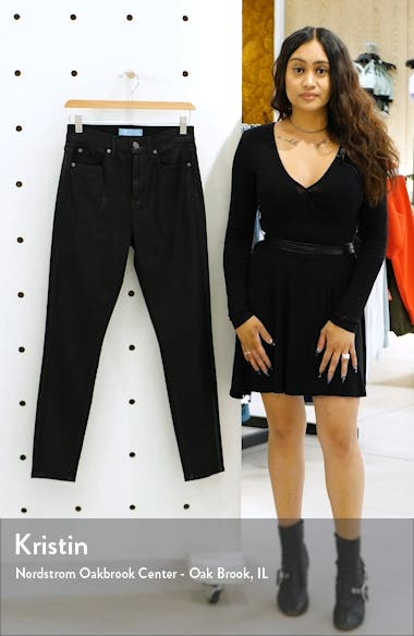 (b)air Coated High Waist Ankle Skinny Jeans, sales video thumbnail