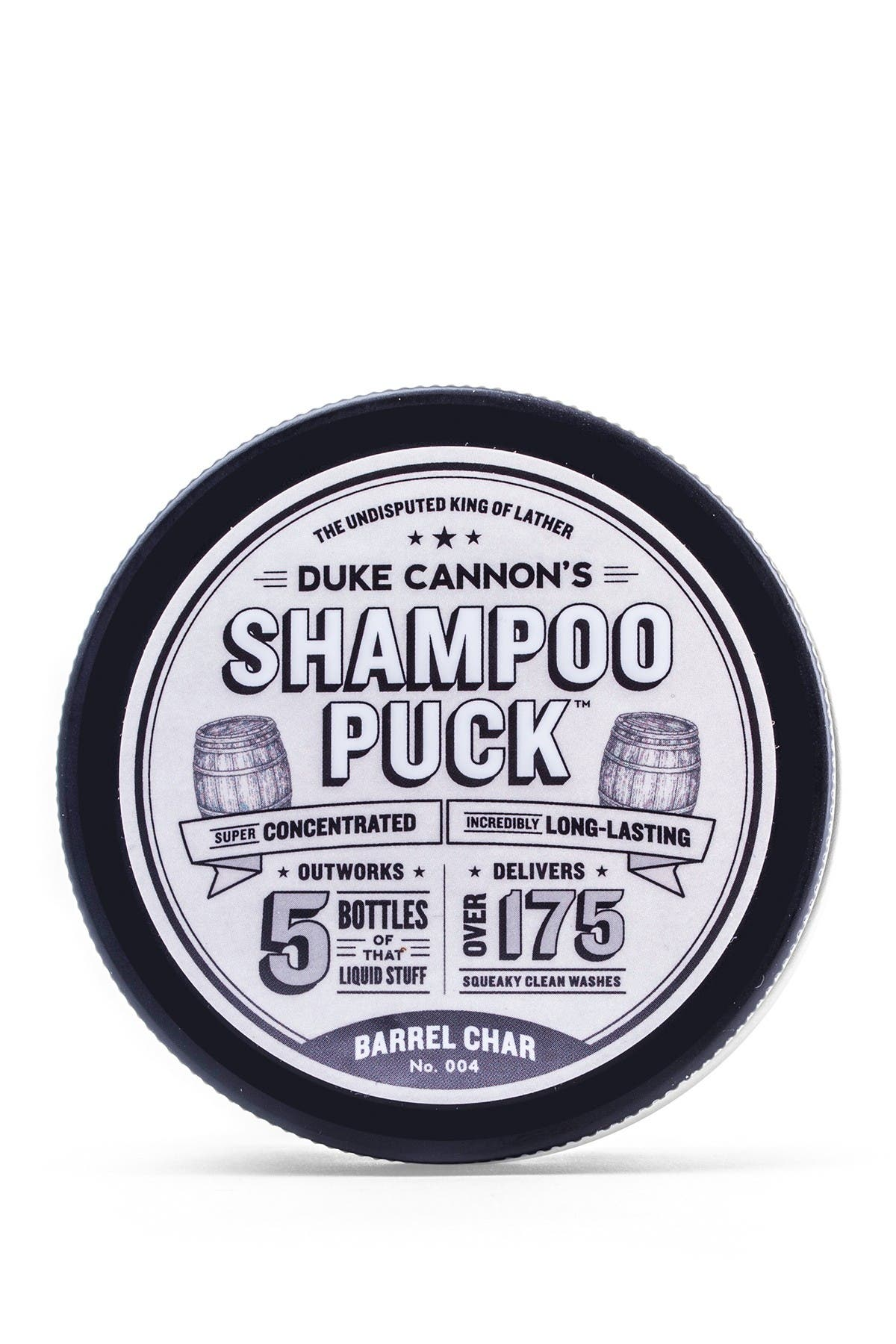 Image of DUKE CANNON Shampoo Puck - Barrel Char