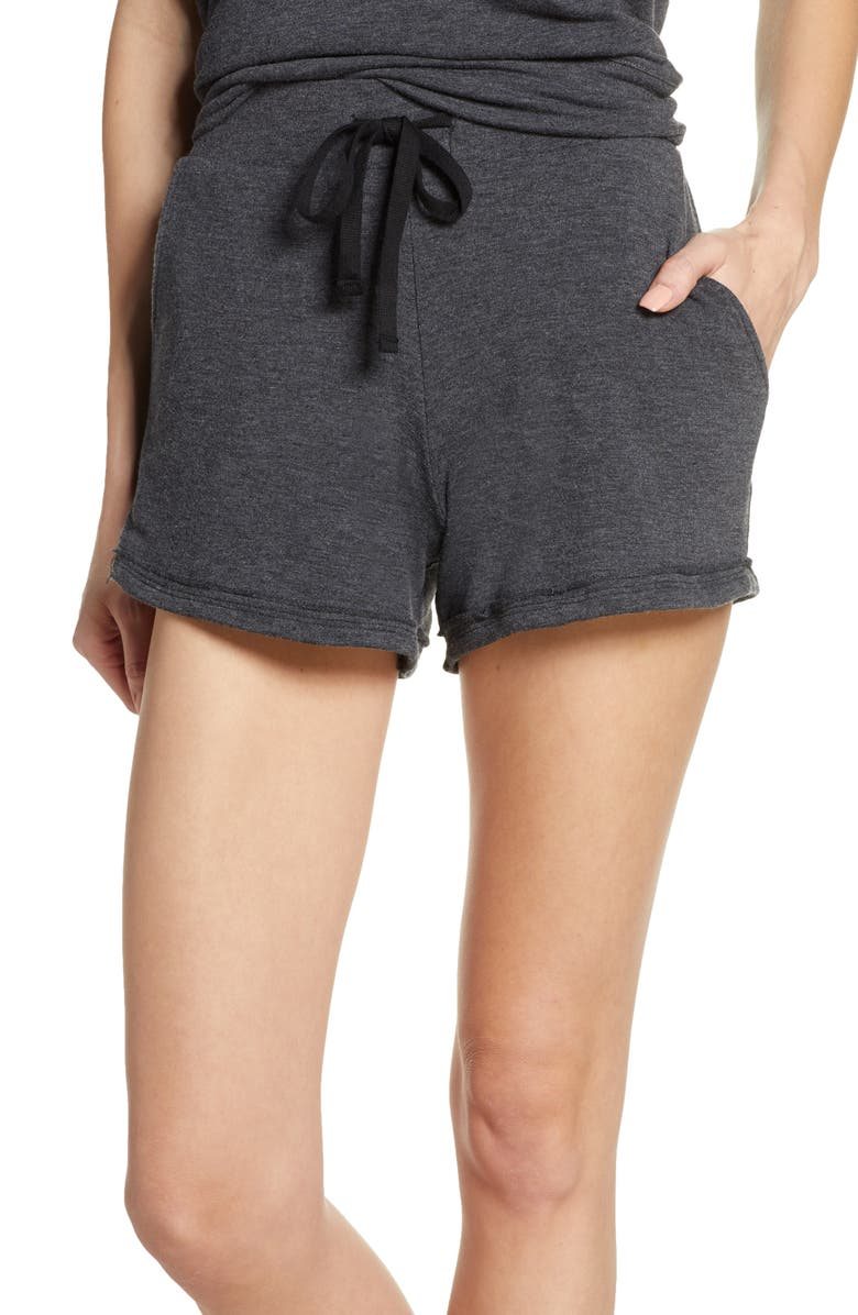 PROJECT SOCIAL T Drawstring Lounge Shorts, Main, color, 020