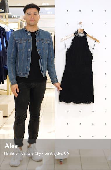 Harper Lace Halter Minidress, sales video thumbnail