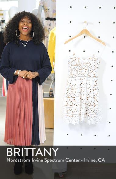 Azalea Lace Fit & Flare Minidress, sales video thumbnail