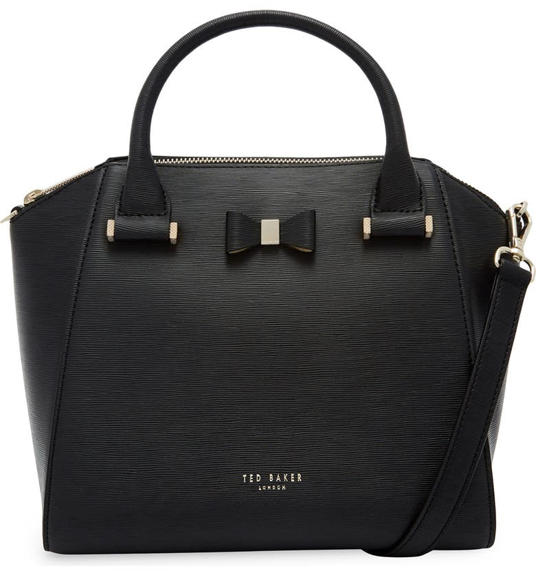TED BAKER LONDON Bow Tote, Main, color, 001
