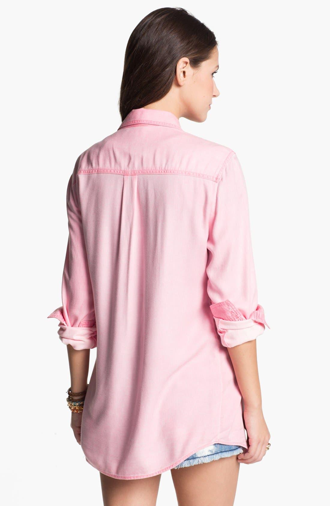,                             Rubbish Oversized Menswear Shirt,                             Alternate thumbnail 24, color,                             670