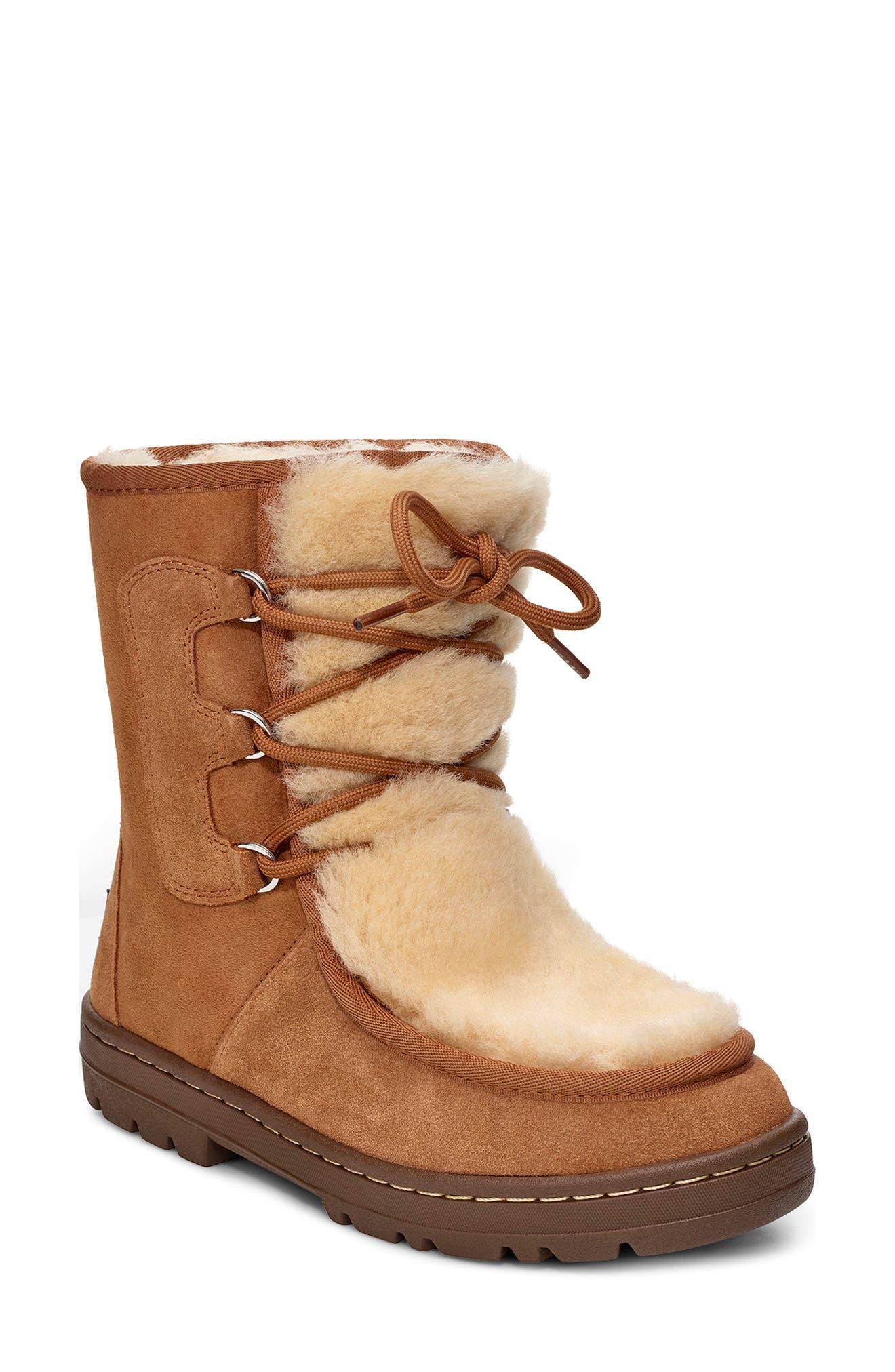 Image of UGG Mukluk Genuine Shearling Trimmed Revival Boot