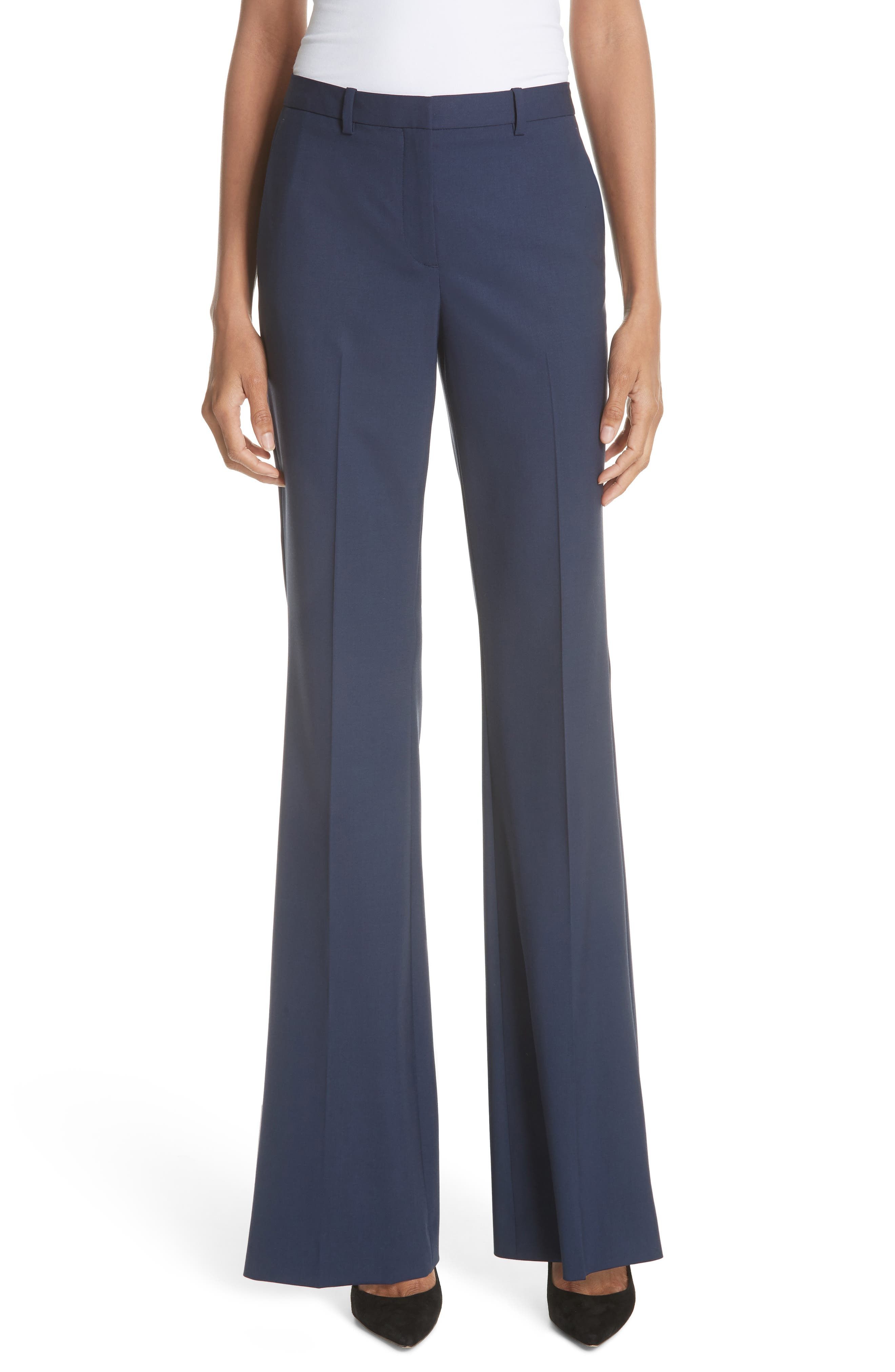 Women's Theory Demitria 2 Stretch Good Wool Suit Pants