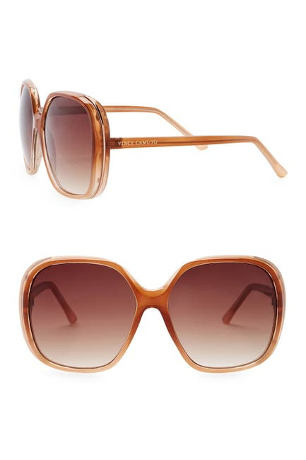 Image of Vince Camuto Glam 60mm Oversized Sunglasses