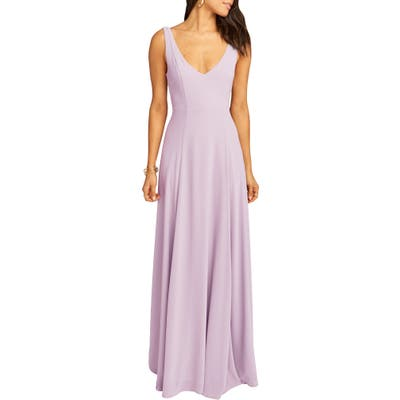 Show Me Your Mumu Jen Maxi Gown, Purple