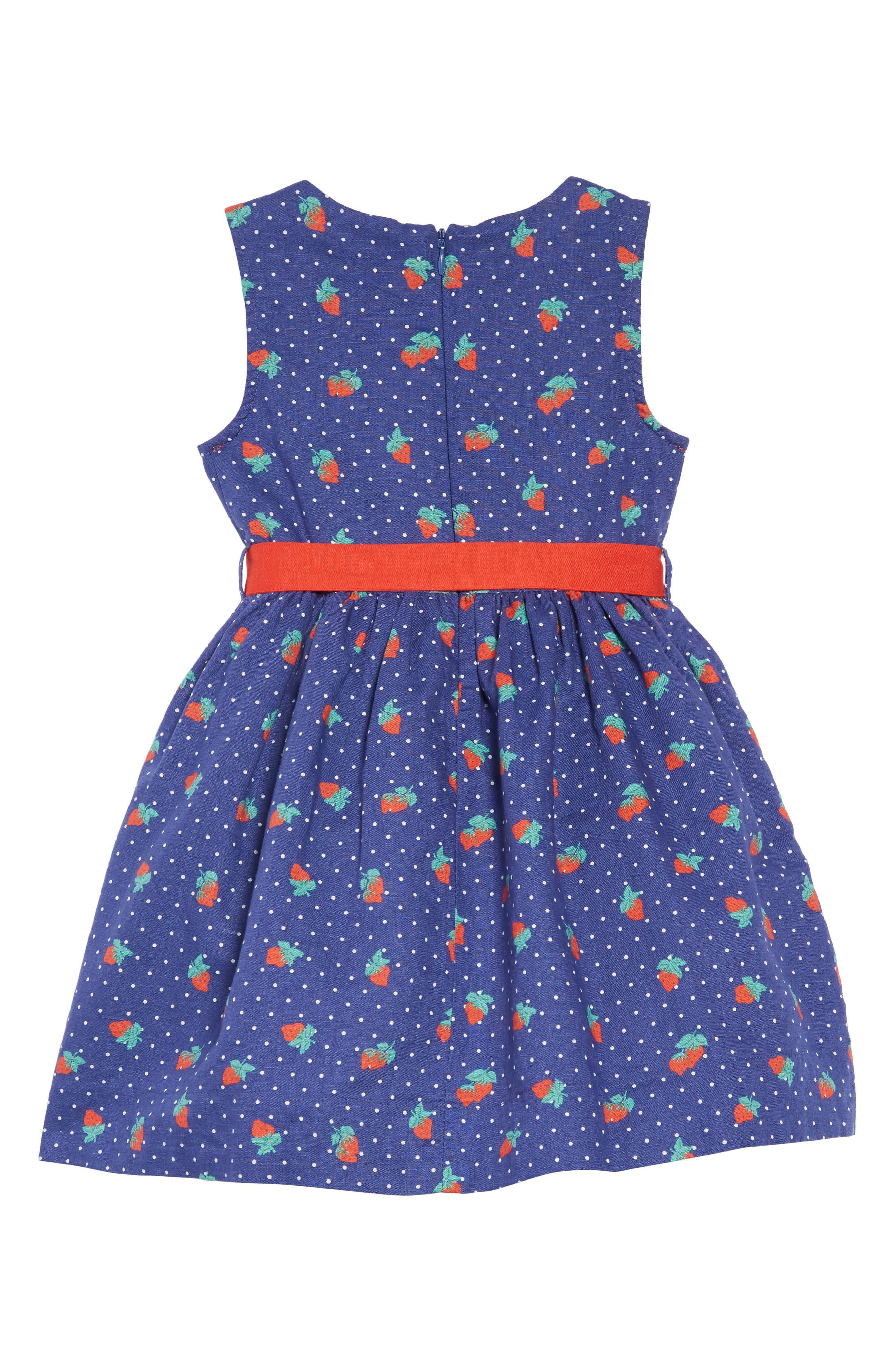 ,                             Vintage Dress,                             Alternate thumbnail 2, color,                             BLU STARBOARD BLUE STRAWBERRY