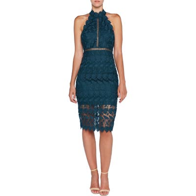 Bardot Noni Lace Halter Dress