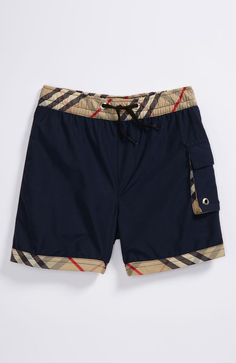 BURBERRY Swim Trunks, Main, color, 410