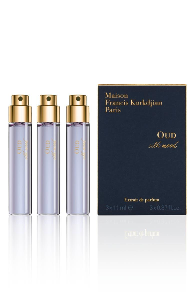 MAISON FRANCIS KURKDJIAN PARIS Oud Silk Mood Extrait de Parfum Refill Trio, Main, color, NO COLOR